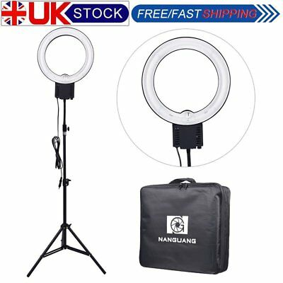 Studio 40W 5400K 32cm Fluorescent Photo Video Ring Light with 90cm Stand & Bag