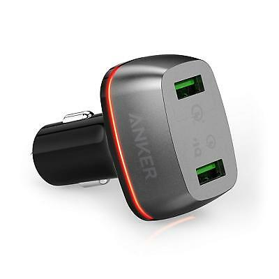 Anker Car Charger PowerDrive+ 2 Quick Charge 3.0 and Quick Charge 2.0 & PowerIQ