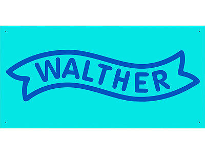Walther Gun Bullet Weapon Club Shop Advertising Banner Sign