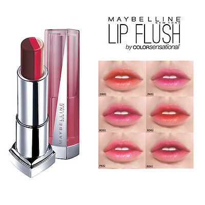 [MAYBELLINE] Color Sensational Lip Flush Bitten Lip Gradation Lipstick 3.9g NEW