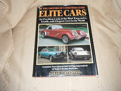 elite cars collectors edition 1979 hard bound dust cover