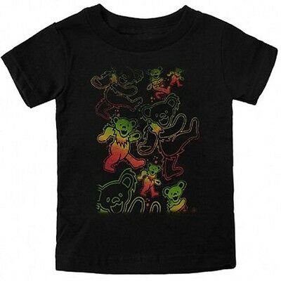 New: GRATEFUL DEAD - Psychedelic Dancing Bears Baby/Infant T-Shirt