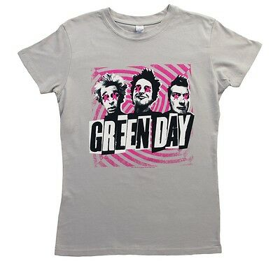 New: GREEN DAY - Swirl Pop Concert T-Shirt Girlie (Size: 2XL)
