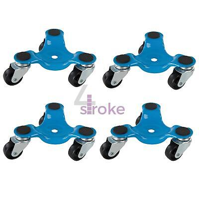 4 x 3 Wheel Wheeled Castor Dolly Appliance Movers Move Casters Fridge Moving