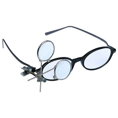 16.5X Jeweler's Eye Loupe Clip-on to Glasses Magnifier Hobby Crafts Sewing Lense