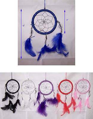 Handmade Tribal  Dream Catchers Wall Decorations 6 Pc Lot  (NpDc90-6  ^)