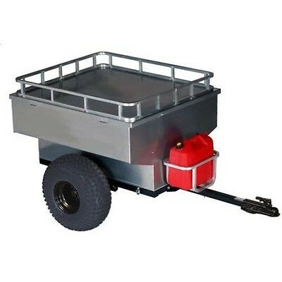 TRAILER - OFF ROAD - Commercial Duty - Aluminum Body - 800 Lbs - 12V DC Lighting