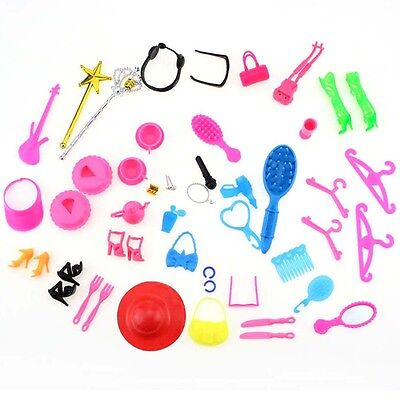Goody Lots Mixed Vintage & Modern Doll Accessories Shoes For Barbie Doll Make Up