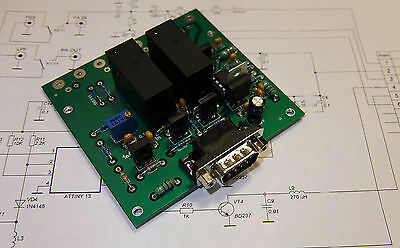 TX-RX unit with sequencer for LDMOS, MOSFET or tube amplifier