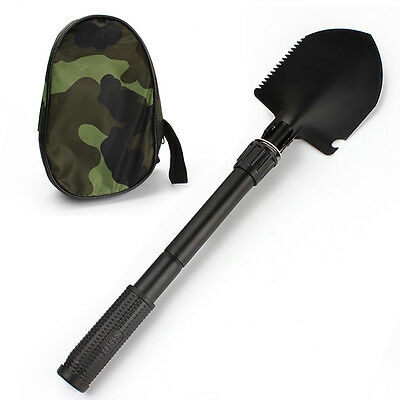 Mini Multifunctional Folding Shovel Outdoor Survival Camping Emergency Tools Kit