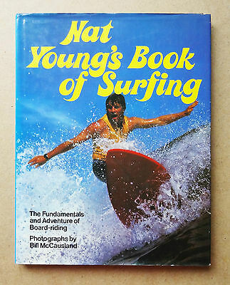 Nat Young's Book Of Surfing - Hardback Surf Guide 1979 Fundamentals Board Riding