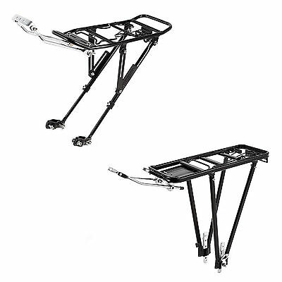 "Heavy Duty Bicycle Cycle Bike Rear Pannier Rack Carrier 25kg 24-28"" Luggage NEW"