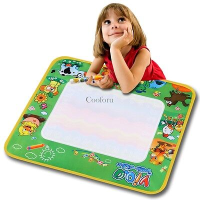 Multicolor Writing Cloth Polyester Drawing Mat Boy Girl Toy Wholesale CO99