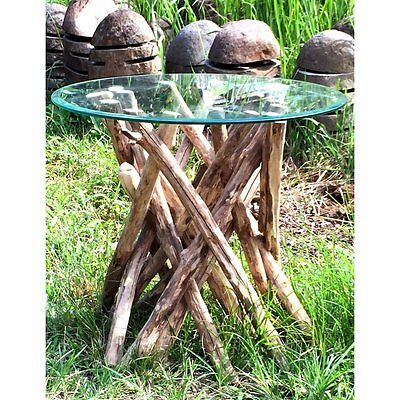 Hand Crafted Wooden Coffee Root Twig Table