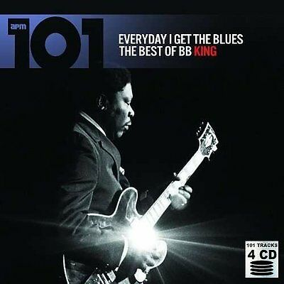 B B King Everyday I Get The Blues New 4 Cdset Best Of Bb King 101 Greatest Hits