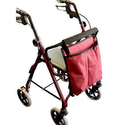 """""""BAG"""" to suit 4 Wheel Rollator - Choice of Navy Blue, Black or Maroon"""