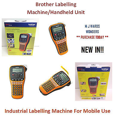 P-TOUCH E100 - Brother Labelling Machine/Handheld Unit - PTE100G1P