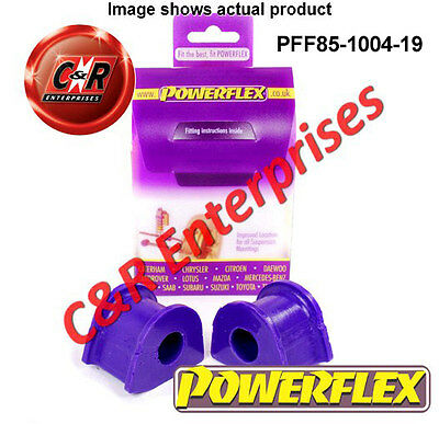 Powerflex VW Audi Front Anti Roll Bar To Chassis Bushes 19mm PFF85-1004-19