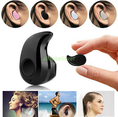 Mini Wireless Bluetooth 4.0 Stereo In-Ear Headset Earphone Earbud Earpiece