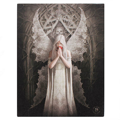 Anne Stokes Gothic Only Love Remains 25cm x 19cm Canvas Print