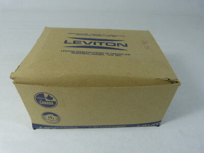 Leviton 85003/001 52-6713 Duplex Plate Brown Box of 25pcs.  NEW