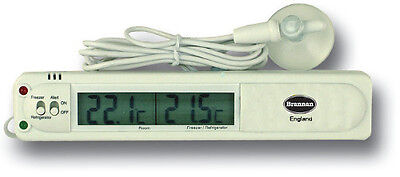Digital Fridge Thermometer With Warning Alarm - Also For Freezer - 22/400/3