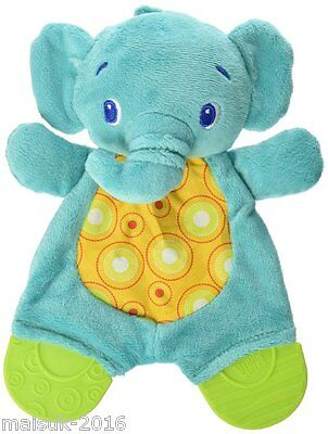 Bright Starts Baby Cuddly Snuggle and Teethe Carrier Pal Elephant