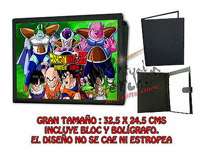 CARPETA NAMEK DRAGON BALL FREEZER LONETA NEGRA FOLDER bloc es