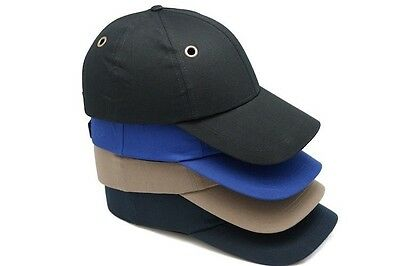 Bump Cap Hard Hat Vented  Safety Hard Hat Head protection Baseball Mechanic