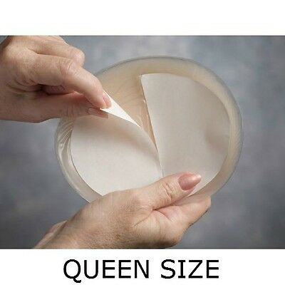 Transform Queen Large Oval Double Sided Adhesive Tapes for Breast Forms 12 Pack