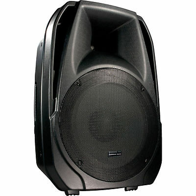 "American Audio ELS-15BT Wireless Bluetooth 2-way 15"" Active DJ PA Speaker"