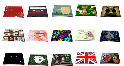 Many Designs Anti-Slip Waterproof Optical Mouse Mouse Pad Mouse Mat Mouse pad