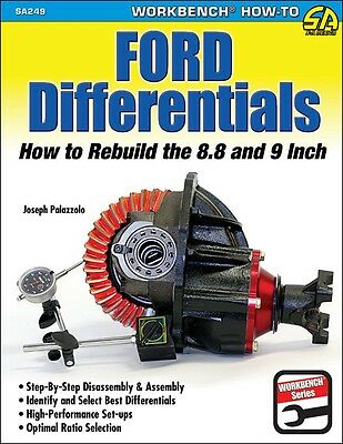 """Rebuild - Setup Ford 9"""" & 8.8"""" Rear End - Ford Differential Book - Manual SA249"""