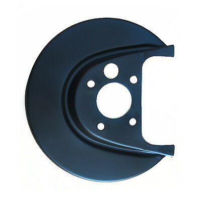 Fabia Roomster Right Rear Brake Disc Plate Backplate Splash Guard Genuine