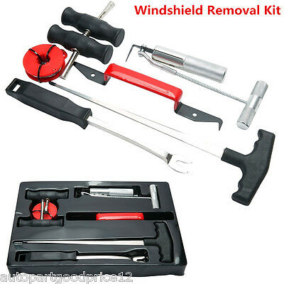 7 Pcs Professional Car Automotive Windshield Removal Tool Wind Glass Remover Kit