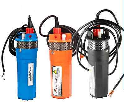 High Quality 12V/24V 200FT Submersible DC Solar Deep Well Water Pump