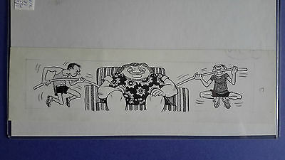 1968 Topps Nutty Tickets #17, Original Art by Wally Wood
