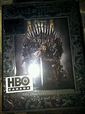 Dvd movie box set; Game Of Thrones; HBO; BOTH SEASONS AVAIL. Unopened. Brand new