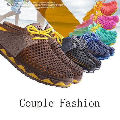 Summer Popular Casual Fashion Sandals Slippers Couple Hollow Breathable Shoes
