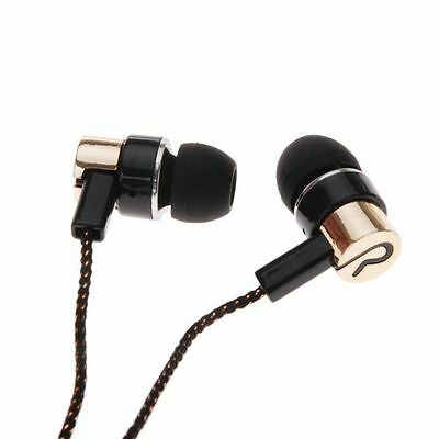 New 3.5mm In-Ear Stereo Headphone Headset Super Bass Music Earphone Metal Earbud