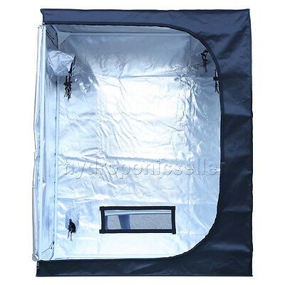 New Design Portable Grow Tent 120x60x150cm  Mylar Hydroponics Non Toxic Hut
