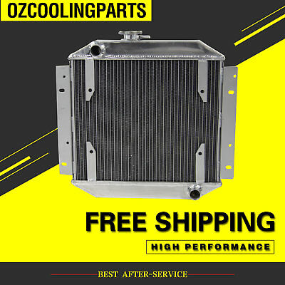 3 ROW CORE race Aluminum Radiator FOR Ford Escort 71-80 Manual High Quality