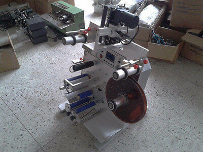 Round Bottle Labeling Machine Labeler With Date Printer Coding Machine T