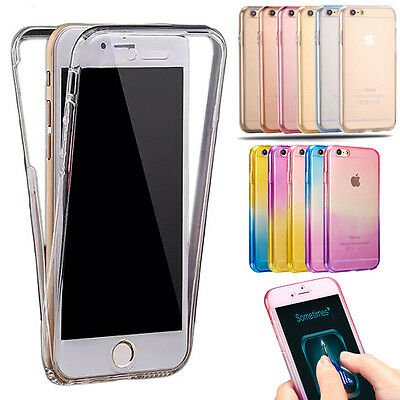 Shockproof 360° Silicone Protective Case Cover Skin For Apple iPhone 6 6s 7 Plus