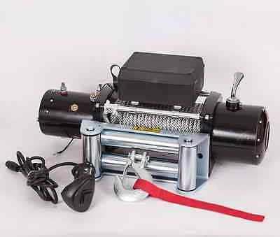 ELECTRIC WINCH 12V PW12000 lbs Remote Steel Wire Rope