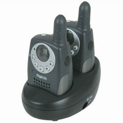 80Ch Rechargeable Handheld 0.5W CB with Torch Twin Pack