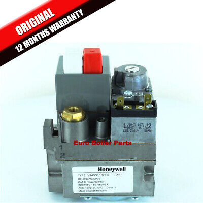 Potterton Kingfisher Cf180 & Cf220 Gas Valve  (240V) 402852 Brand New V4400C