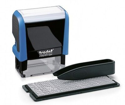 Trodat Printy 4911 typo Do It Yourself Stamp Kit (Up to 3 Lines)