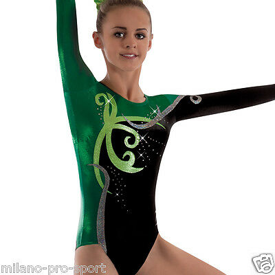 "Milano Pro Sport Gymnastic leotard 'Matilda 162902' - Sizes 26""-36"" -NEW"