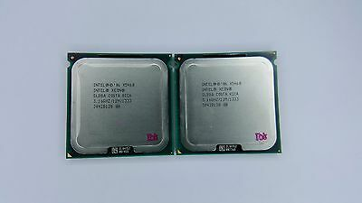 Matched pair of Intel Xeon X5460 3.16GHz Quad-Core SLBBA Processor w/Grease